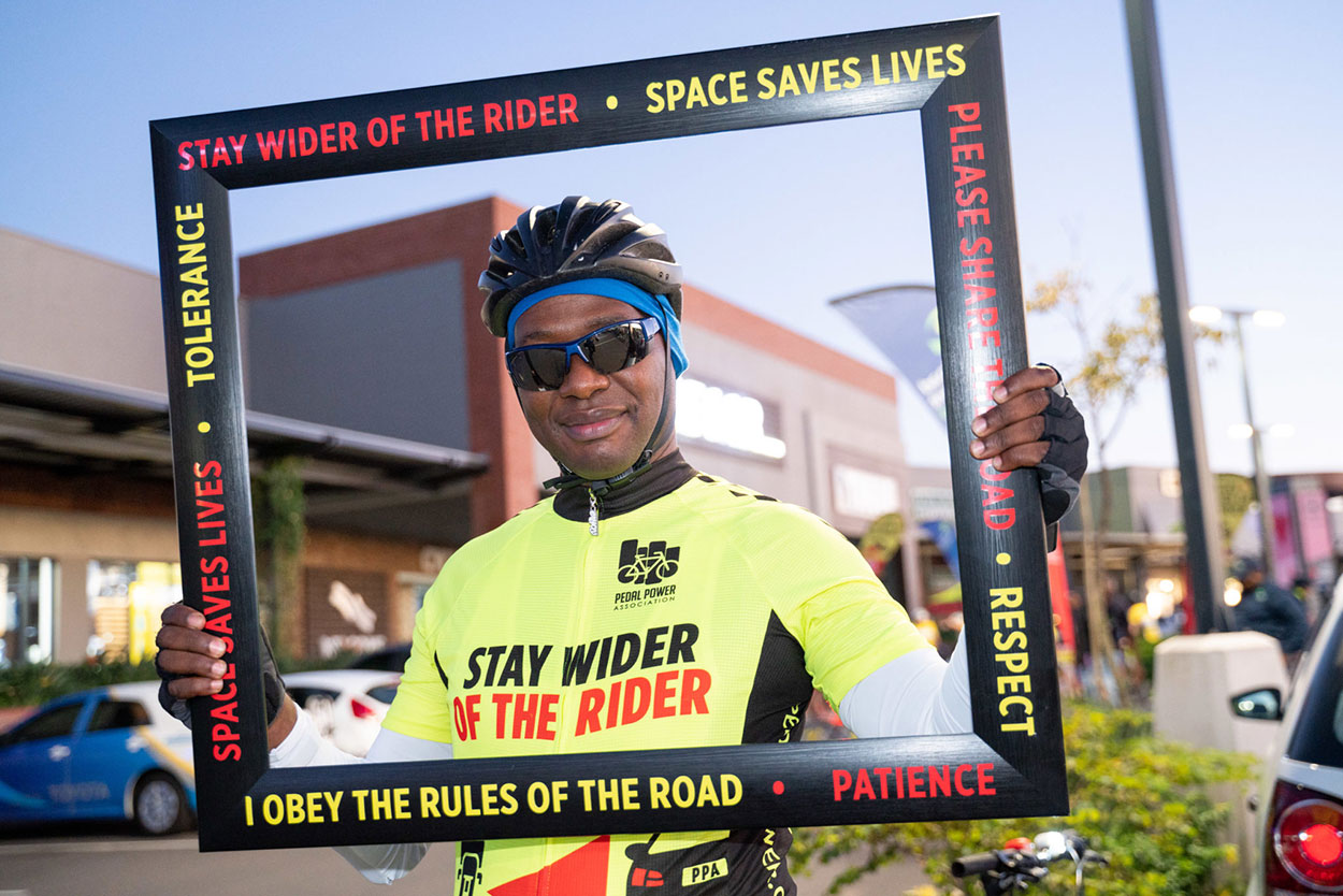 Stay Wider of the Rider Awareness Ride