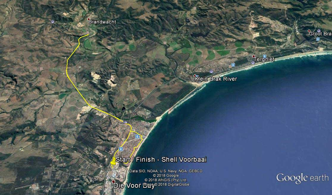 Mossel Bay Safe Cycling Route