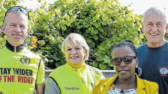 Cyclists Raise Awareness of Safety Concerns